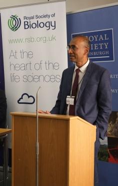 Sir Venki Ramakristnan - Royal Society - keynote